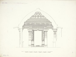 Dholka, Gujarat: Tanka Masjid section of the porch on the east half of the Court